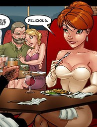 Awesome fucking adult comics - hot babe lost virginity.
