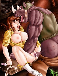 Seins nus Avril avoir des rapports sexuels avec Rocksteady, Batman est fisting Harley Quinn, Spider-Man baise Black Cat