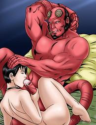 Hellboy porn hot sex