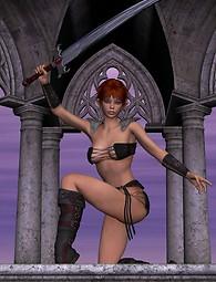 Fanatsy xxx - elf armed with a sword