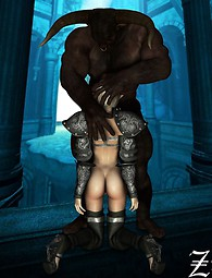 Adult fantasy pictures demons and elves interracial