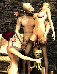 Forced fantasy sex world