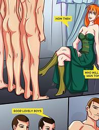 Redhead witch cocksucking porn