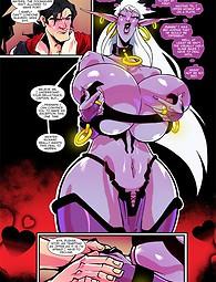 Fantasy pirate catgirl sex