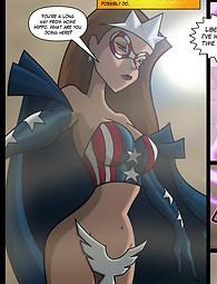 Sex superhero porn