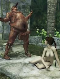 Fantasy forced sex