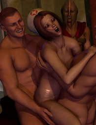 Group sex with fantasy creatures
