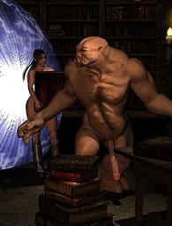 Demon harem ritual