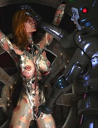 Monsters and robots fantasy porn pics