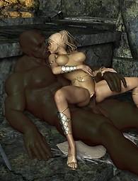 Monsters and robots fantasy porn pics