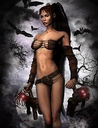 Conoce a los más sexy vampiros dama que jamás hayas visto. Haga que sus sueños de las chicas con cuerpo sexy perfecto se hagan realidad!