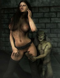 3D Fantasy xxx tentacles and monsters