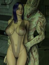 Hard sci-fi fucking - Alien sex