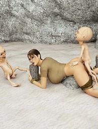 Lara Croft xxx images and tentacle sex