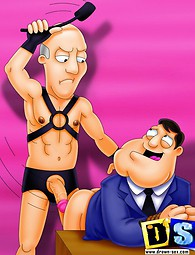 American Dad in gay punishment cartoon xxx