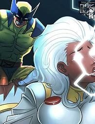 X-Men cartoon xxx