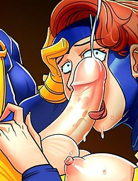 Big-dicked X-Men putting it on sluts' holes. Helpless babes getting fucked raw by brutes from X-Men