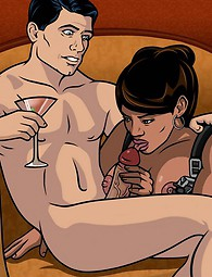 James Bond drawn porn
