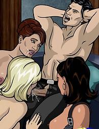 James Bond dibuja porno