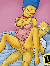 Fucking Simpson oldies having fun