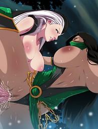 Chicas voluptuosas conseguir martillado, deliciosos anime girls duros a la espera de ser follada.