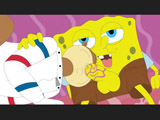 Square pants Dick Spongebob loves when silly squirel gives him nice blowjobs.