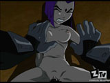 Raven from ten titans forced to sex hot toon movie