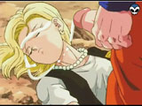 Goku`s cumshot - Goku cumshots on Bulma`s sweet face.