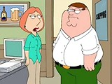 Sexy Peter Griffin's housewife sadomised in bedroom.
