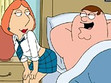 Naughty Lois dresses like a schoolgirl and gets fucked by Peter