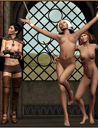 Lesbian fetish games in 3D pictures