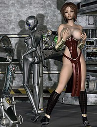 Sci-fi girls want new sex experiments, angels and devils united with only one wish - to fuck.