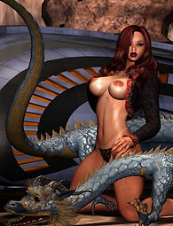 Fantasy sex art in all its beauty