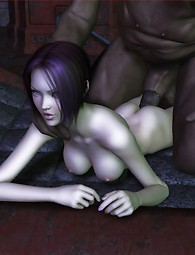 Little naughty elf fucked 3D pics for adults