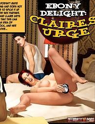 Ebony Delight: Claire's Urge