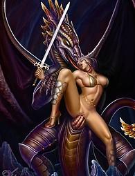 Master of fantasy porn art - xxx artist's pics