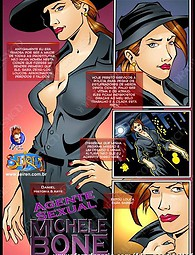 Sexual agent Michele Bone xxx comic