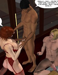 Incredible sex action with hot beautiful chicks and black guys.