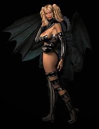 Sexy Gothic girls posing