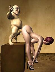 Fat Dwarf 3D porn