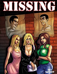 Black guys missing - adult comics